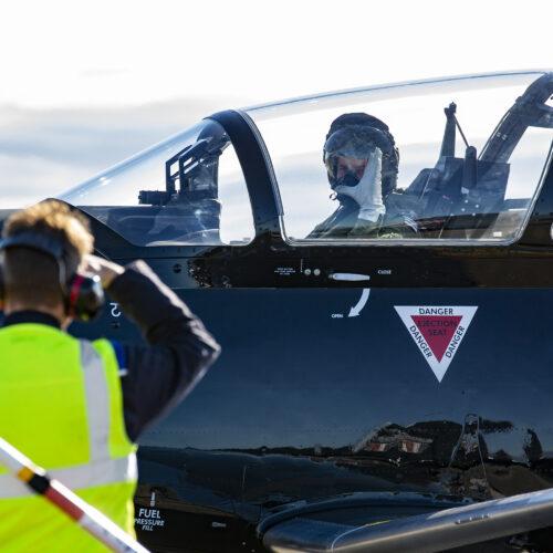 Texan at RAF Valley